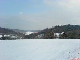 Elfringhauser Schweiz im Winter